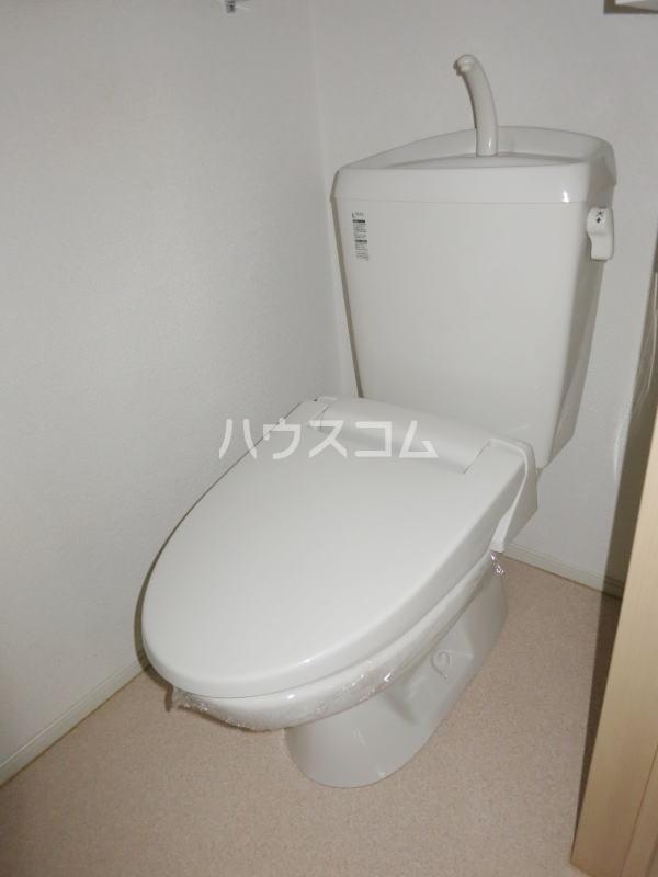 ラリック・ヒルB 01020号室のトイレ