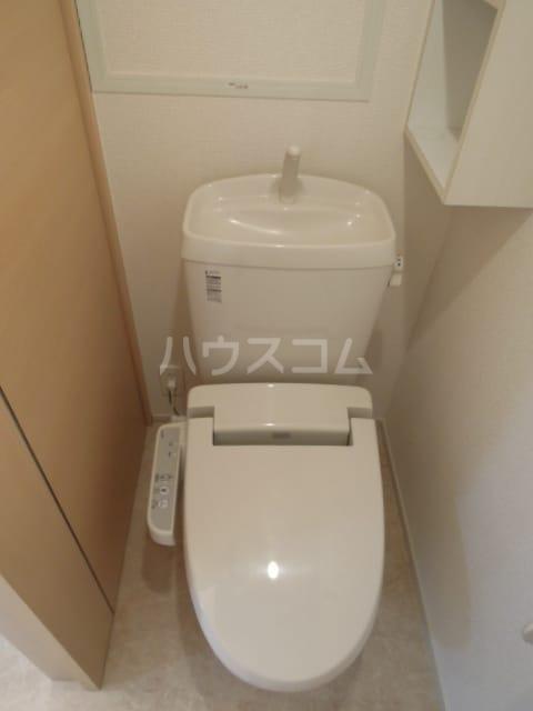 ジェルメ・メゾンM.3号館 02020号室のトイレ
