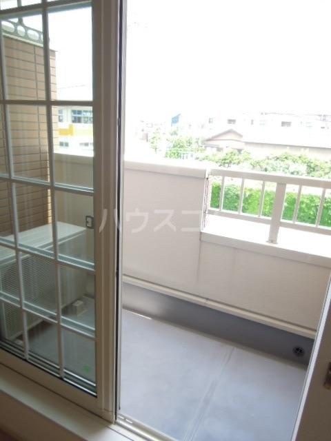 ジェルメ・メゾンM.3号館 02020号室のバルコニー