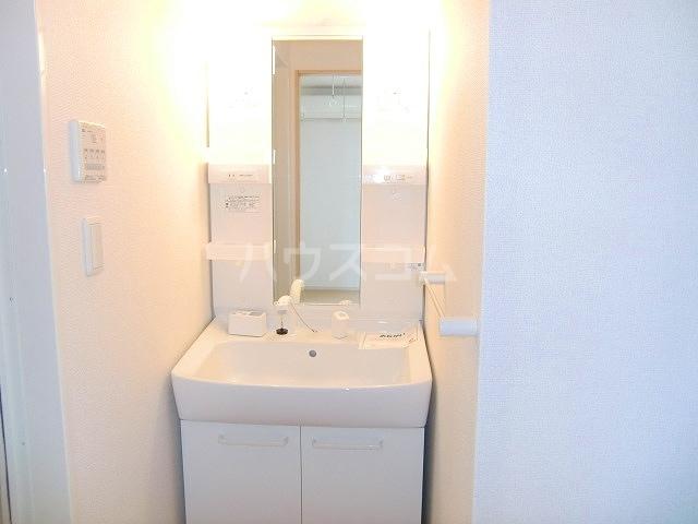 フリルフスリフ 01010号室の洗面所