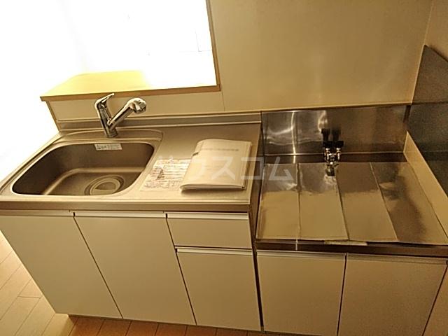 サワディーB 02030号室のキッチン