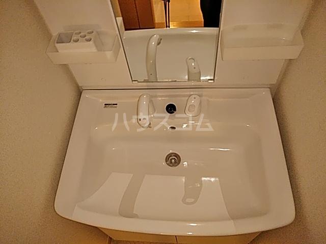 サワディーB 02030号室の洗面所