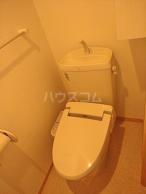 サワディーB 02030号室のトイレ