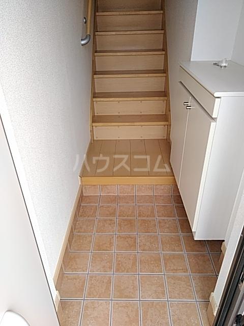 サワディーB 02030号室の玄関