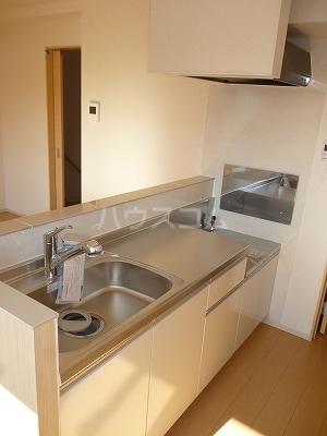 ハニーエンジェル 02010号室のキッチン