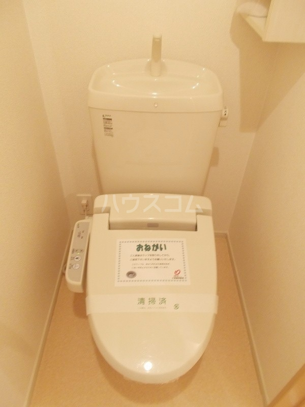 プレ エフ 01020号室のトイレ