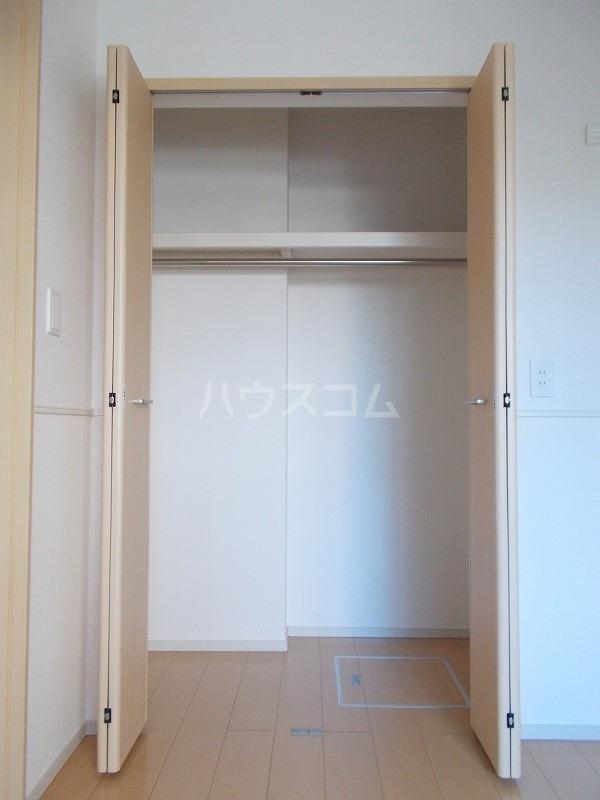 プレ エフ 01020号室の収納