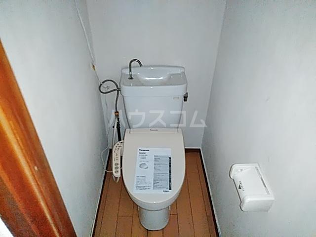 妻田サンハイツ 102号室のトイレ