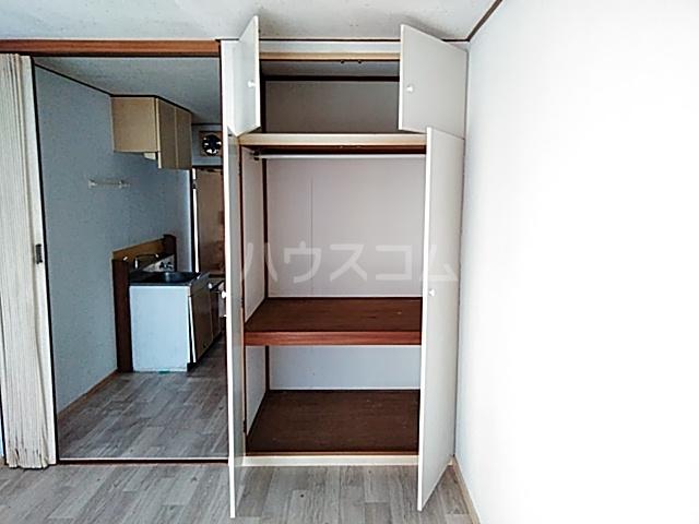 妻田サンハイツ 102号室の収納