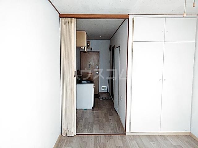 妻田サンハイツ 102号室のベッドルーム