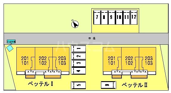 ベッテルⅠ 01010号室のその他