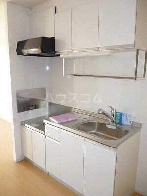 グランツみしまⅡ 03020号室のキッチン