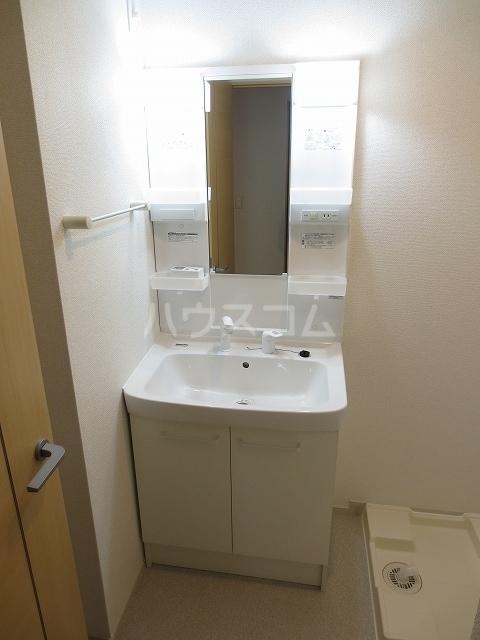 シャルマン M 01020号室の洗面所