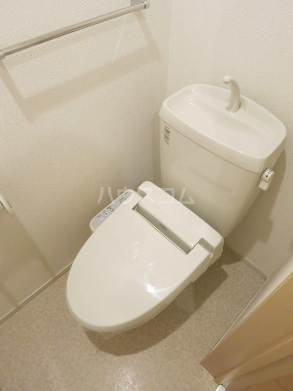 グランディール藤川 01020号室のトイレ