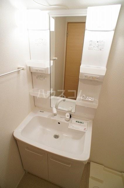 プリムローズ・ヴィラA 01030号室の洗面所