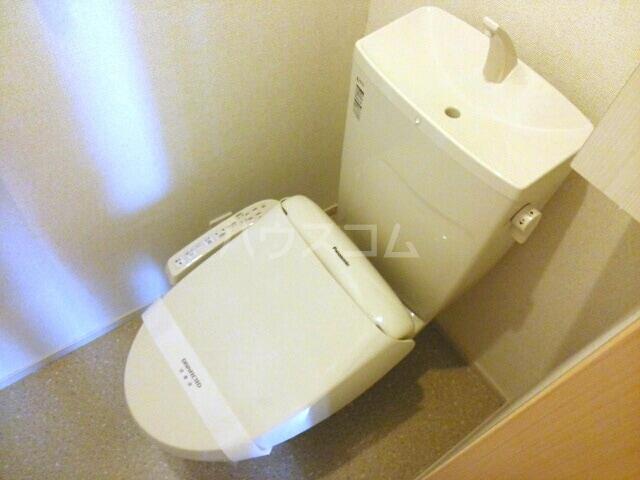 ラディエンスB 01010号室のトイレ