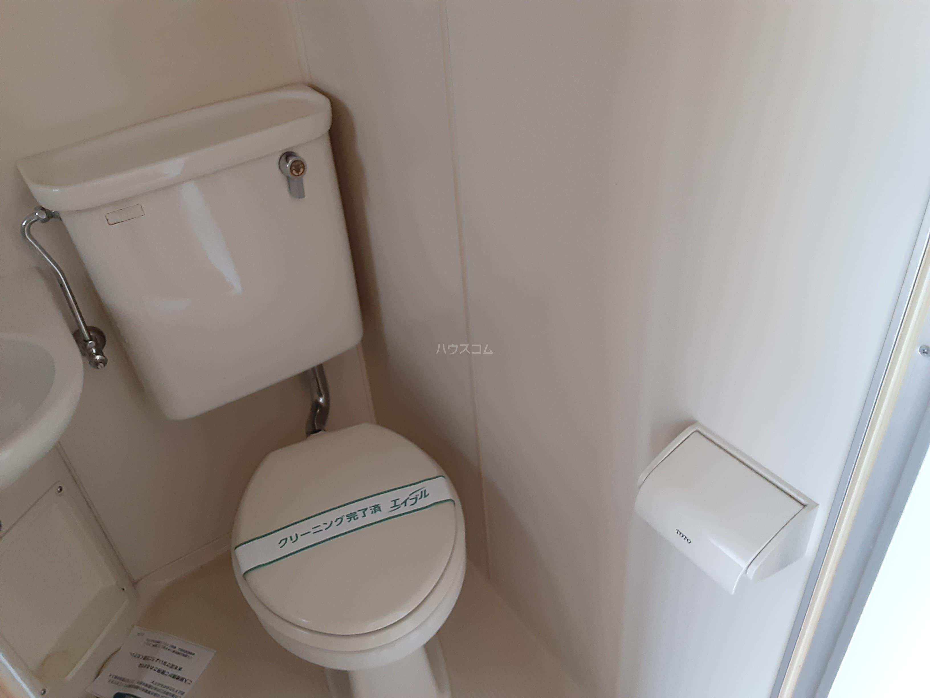 ハイツ仲西 201号室のトイレ