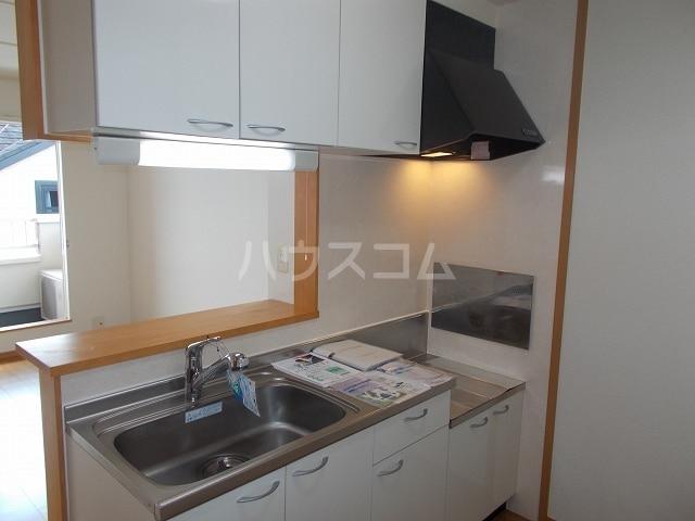 サン・ルーツ B 02010号室のキッチン