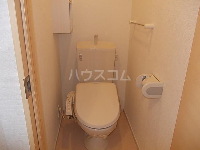 ヴァルム・レーベン緑町Aのトイレ