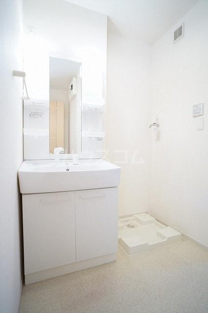ロイデ ナチューレ A 01030号室の洗面所