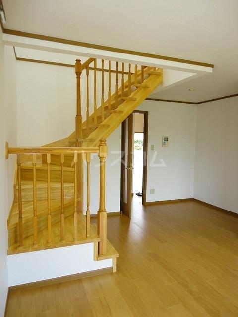 ブロ-ドハウスの居室