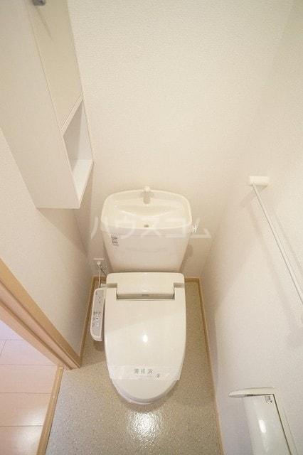 サニージェルメA 02010号室のトイレ