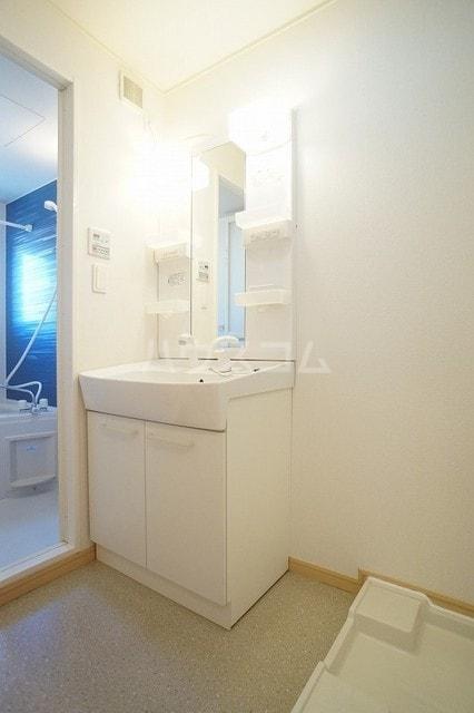 サニージェルメA 02010号室の洗面所