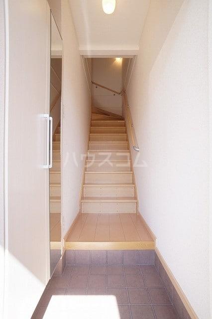サニージェルメA 02010号室の玄関
