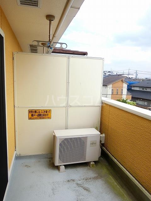 ベルテラスⅡ 02050号室のバルコニー