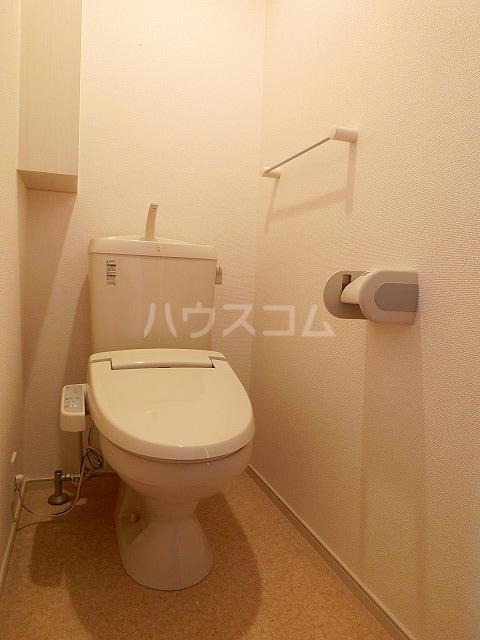ベルテラスⅡ 02050号室のトイレ