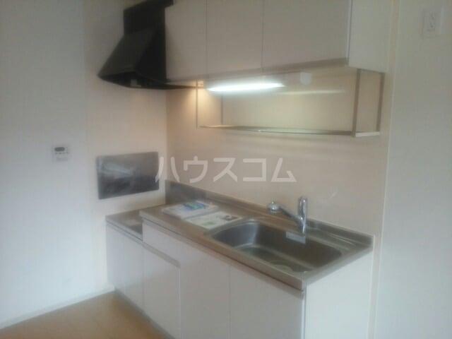 プラシードⅢ番館 02010号室のキッチン