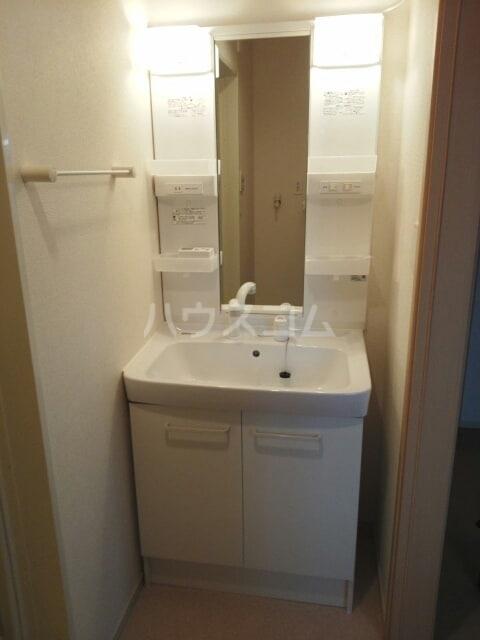 ブライトパークⅢ 01020号室の洗面所