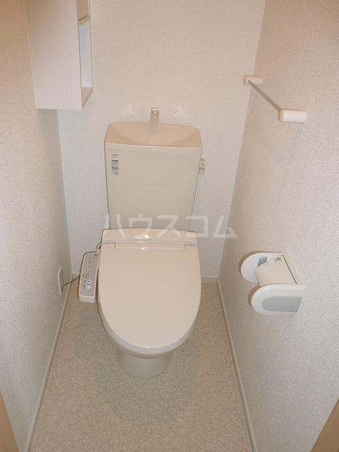 ラザレ 02020号室のトイレ