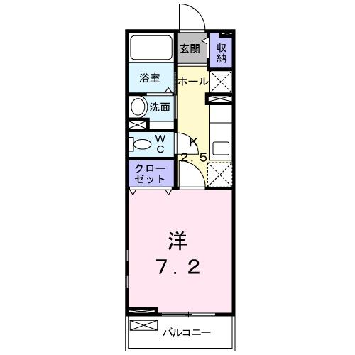 AIKI・02020号室の間取り