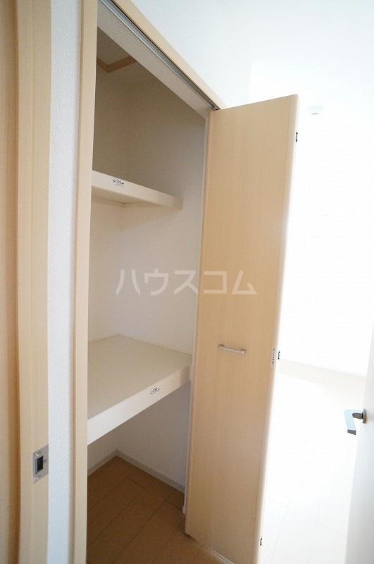 カーサ・プラシードA 02010号室の収納