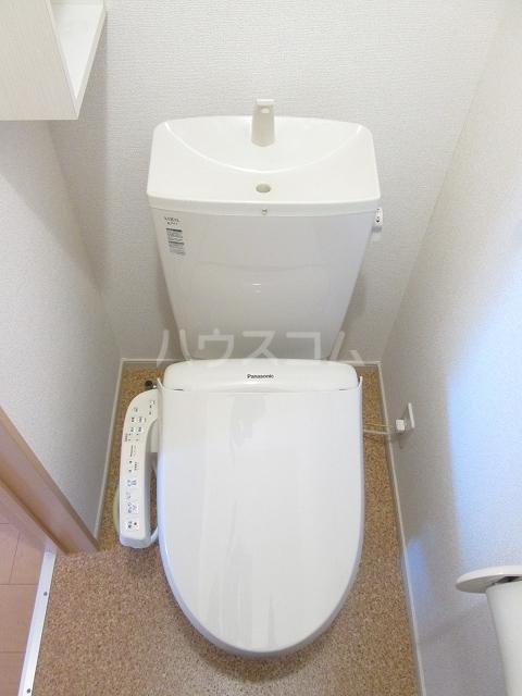 シルバーグラスB 01020号室のトイレ