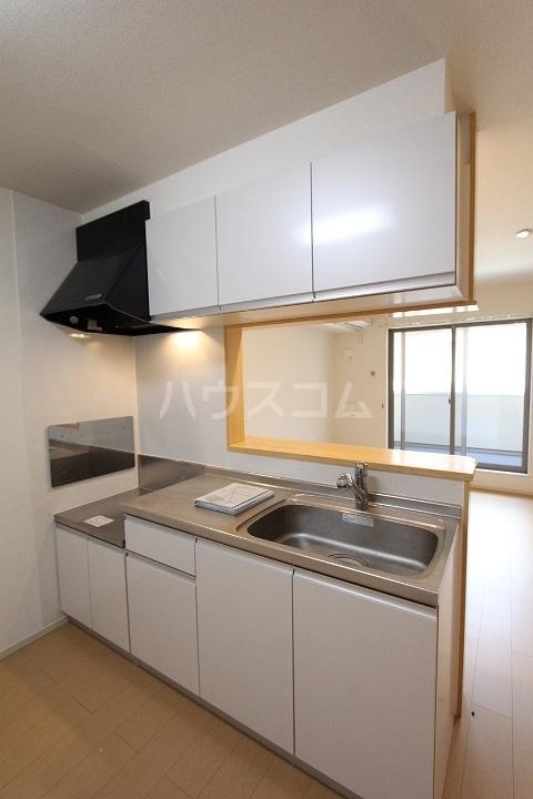 ヴァーサ清水ケ岡 02030号室のキッチン