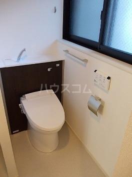 エアリス 01010号室のトイレ