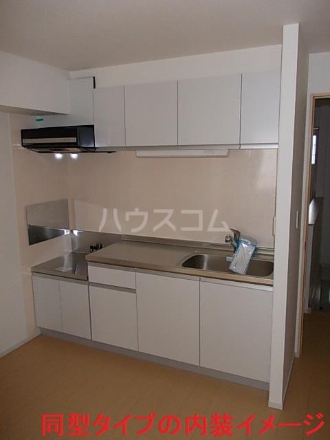 プロムナード 02010号室のキッチン