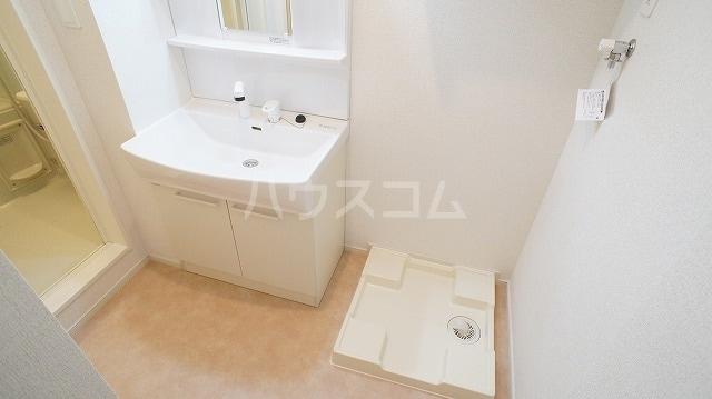 ブルースター 01020号室の洗面所