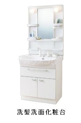 スカイコートⅠ 01010号室の洗面所