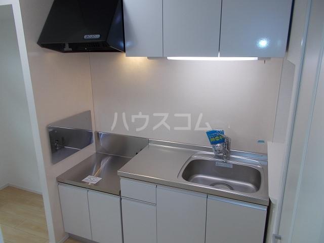メゾン・ド・コリーヌⅡ 02020号室のキッチン