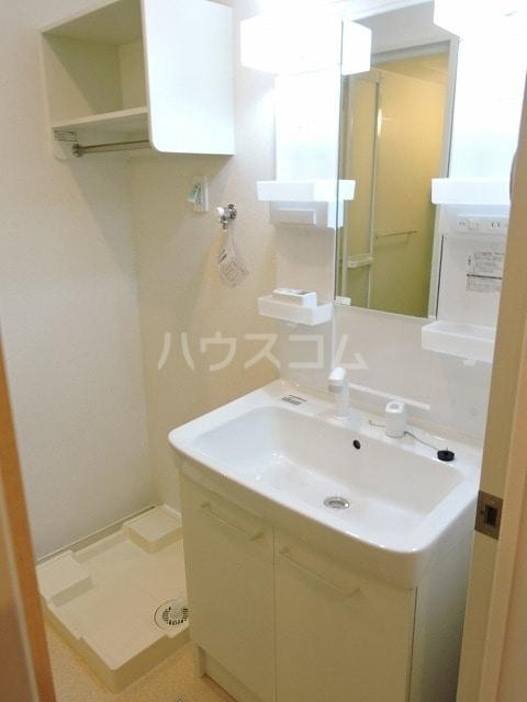 クレール ハピネスA 02010号室の洗面所