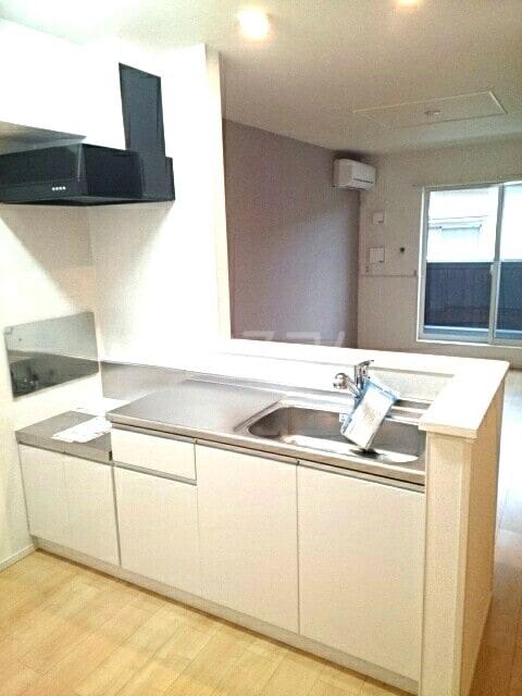 レオルガⅢ 02020号室のキッチン