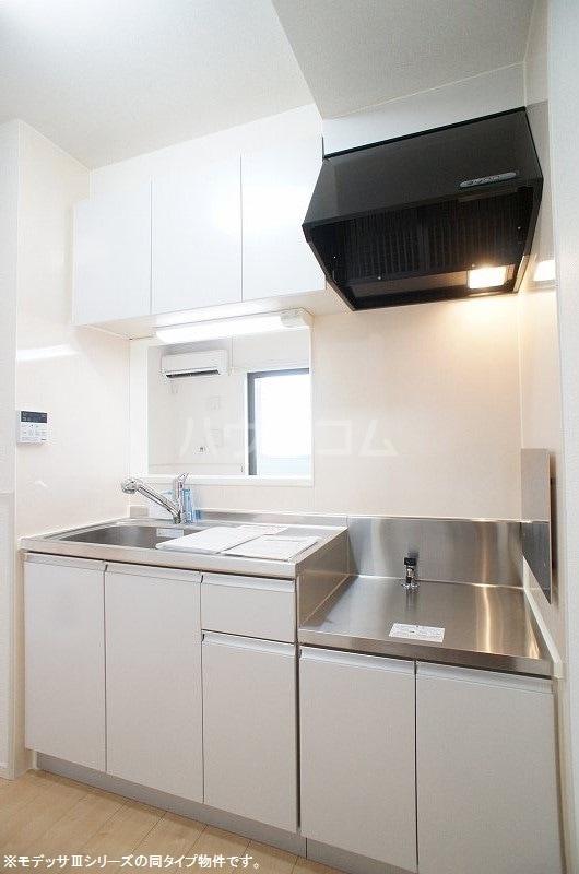 ブリーズ S 02020号室のキッチン