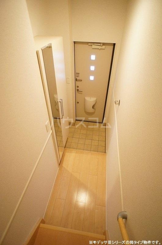 ブリーズ S 02020号室の玄関