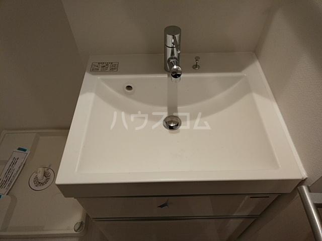 リブリ・Anniversary 101号室の洗面所