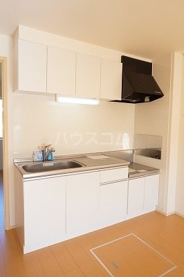 ラ・ルーチェⅡ 01040号室のキッチン