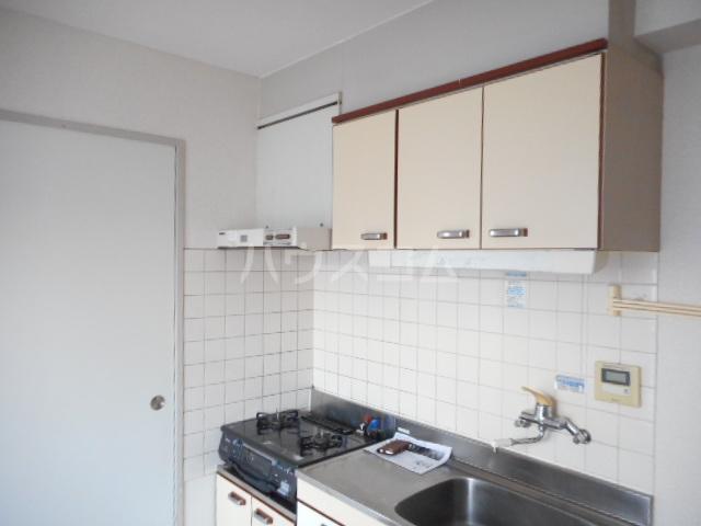 青木マンション 401号室のキッチン