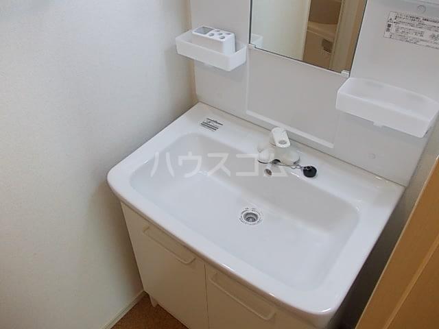 パティオスカイⅩ 02040号室の洗面所